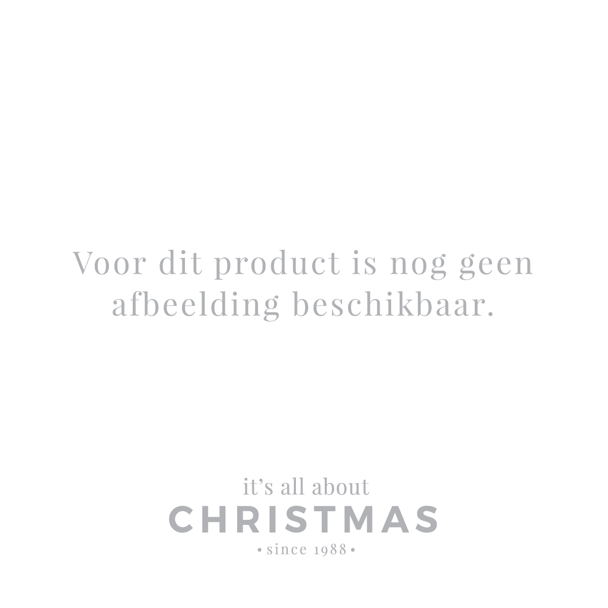 Luxe kerstman staand 45cm grijs