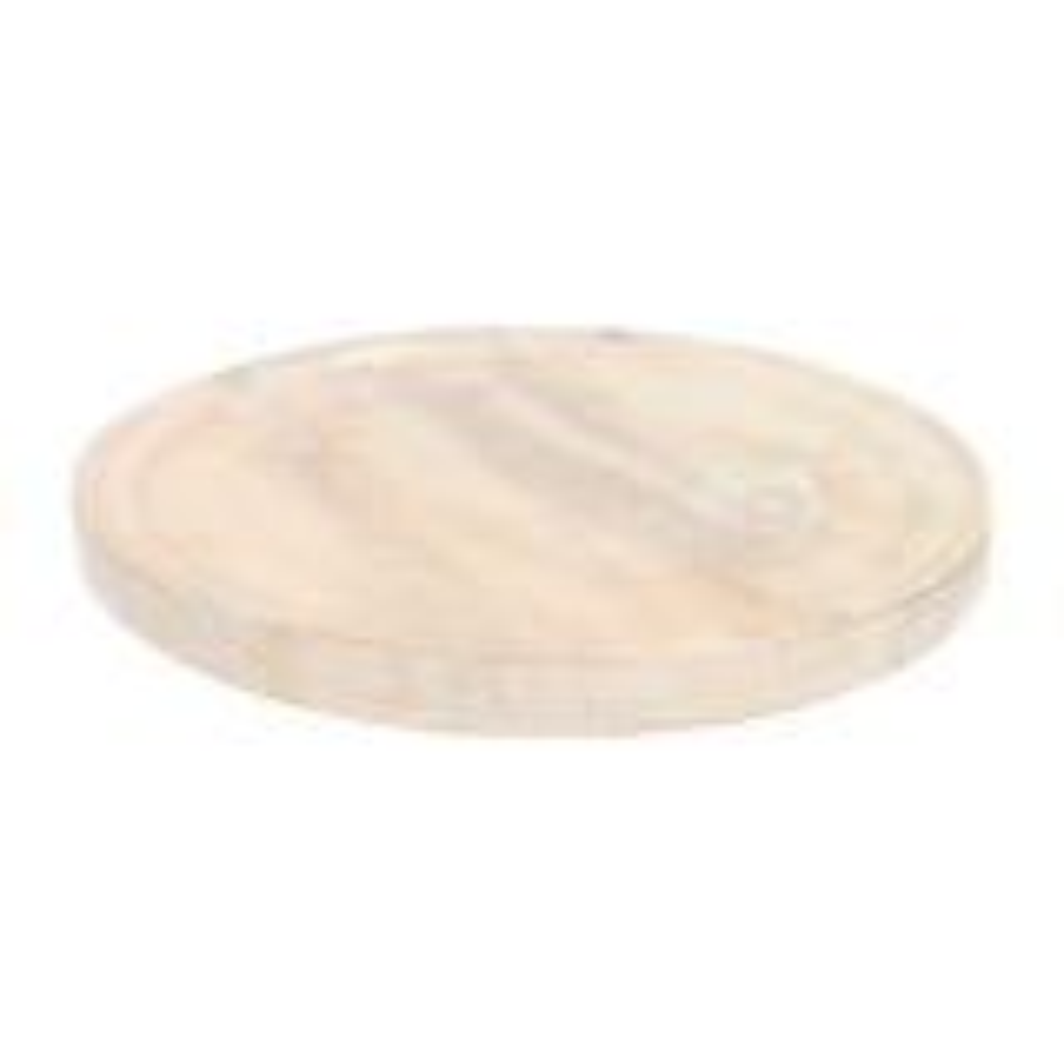 Houten onderbord 30 cm white wash