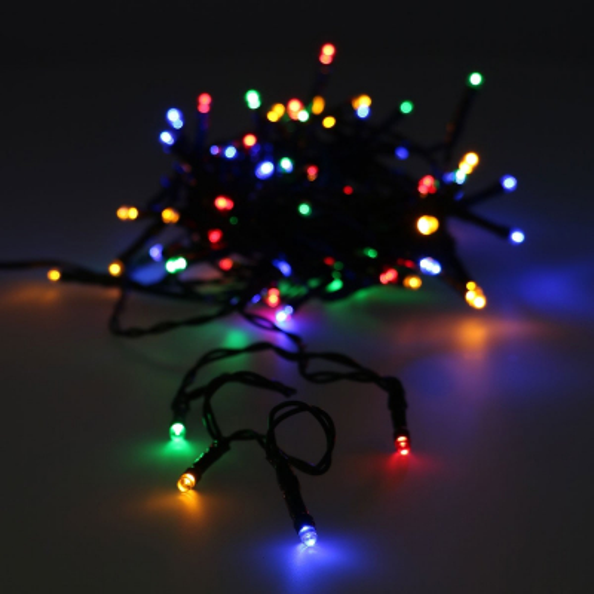 Snoerverlichting voor buiten 80 LED multi