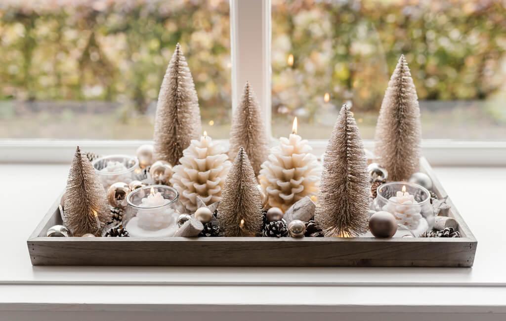Decoratief herfst & winter dienblad stylen